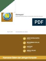 Honeypot Keamanan Jaringan Komputer