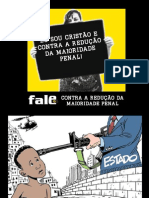 Campanha_FALE Contra a Reducao Da Maioridade Penal