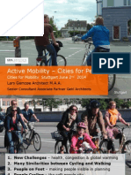 Active Mobility Cities People 2014 l Gz