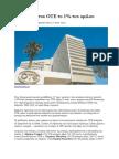 Σε Στελέχη Του ΟΤΕ Το 1% Ου Ομίλου 14-5-2014