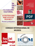 Antiguedades Peruanas en Peligro