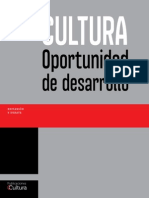 Cultura Oportunidad de Desarrollo