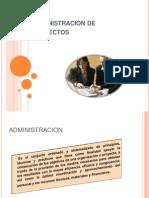 2. Administración de Proyectos