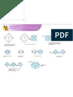 Origami Crown Print