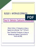 Clasificacion de Materiales