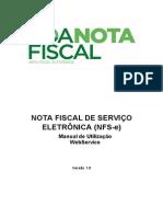 Manual Utilizacao WebService