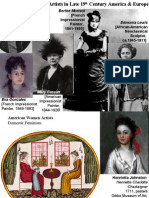 7. Women Artists in Late 19th Century America & Europe