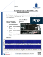 Inspeccion Ultrasonido GruaDanieli 31AGOS2012