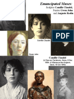 8. Emancipated Muses - Gwen John and Camille Claudel