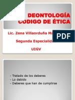 Deontología y Codigo de Etica 2-2-14