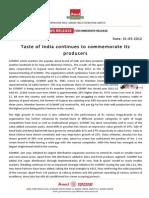 English Agm Press Release