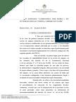 Fallo de la Sala III de la Cámara en lo Contencioso Administrativo Federal en causa Campagnoli