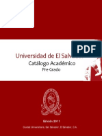 Catalogo Academico _2011 FINAL_UES