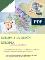 la sociedad e Europa y de españa.ppt