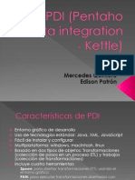 PDI (Pentaho Data Integration)