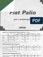 Manual Do Fiat Palio Versões 96-99 El, Ed, Edx e 16v