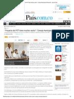 """""""Proyecto del POT tiene muchos vacíos""""_ Consejo Municipal de Planeación.pdf"""