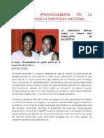 La Mujer Afrocolombiana en La Construcción de La Identidad Nacional