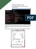 Manual para configurar una IP Fija.docx