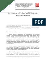 Montini - Sobre Battista Mondin