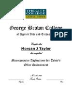 mjtaylor microcomputer certificate