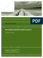 Bolstering European Energy Security