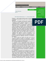 DDOOSS, Entrevista a Pierre Boulez