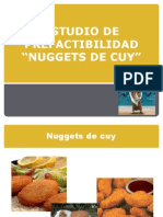 Nuggets de Cuy Diapos