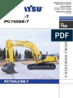 Excavadora Komatsu Pc750 Espanol