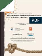 2012. Ferreyra. Aproximaciones a La Educaci%C3%B3n Secundaria