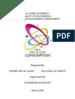 World Oil & Gas Consumption