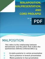 Cord Prolapse