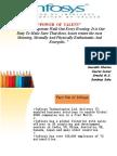 financial ratio analysis infosys Presentation