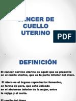 Cancer de Cuello Clase Mesa Panamericana