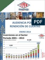 5. Ypfb Audiencia Publica Enero 2014 16-01-14