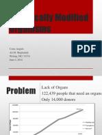 Genetically Modified Organs