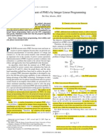 Optimal Placement of PMUs by Integer Linear Programming