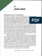 Ryan - Professional Liars