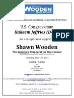 Wooden June 12 Event Invitation