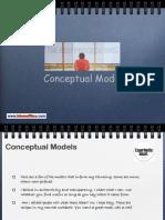 Conceptual Models
