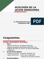 TS12A_FARMACOLOGÍA DE LA COAGULACION SANGUINEA