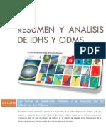 Resumen y Análisis de IDHs y ODMs