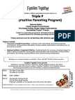 triple p seminar series x 2 revesby july 2014