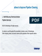 Developing Alternatives to Pipeline Cleaning