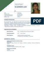 CV Jenny Borrero
