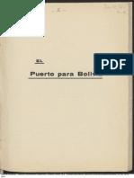 El Puerto Para Bolivia. (1919)