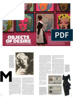 Reportage Objects of Desire