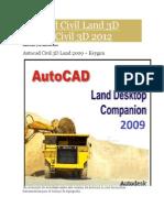 Autocad Civil Land 3D 2009 y Civil 3D 2012 Manual