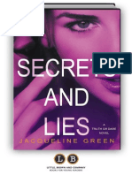 Secrets and Lies (Truth or Dare Series) by Jacqueline Green - PREVIEW