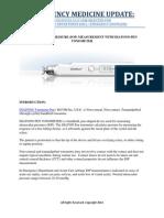 Emergency Medicine Update Tonometer Pen Diaton Selected for Er Ed INTRAOCULAR PRESSURE (IOP) MEASUREMENT WITH DIATON® PEN TONOMETER